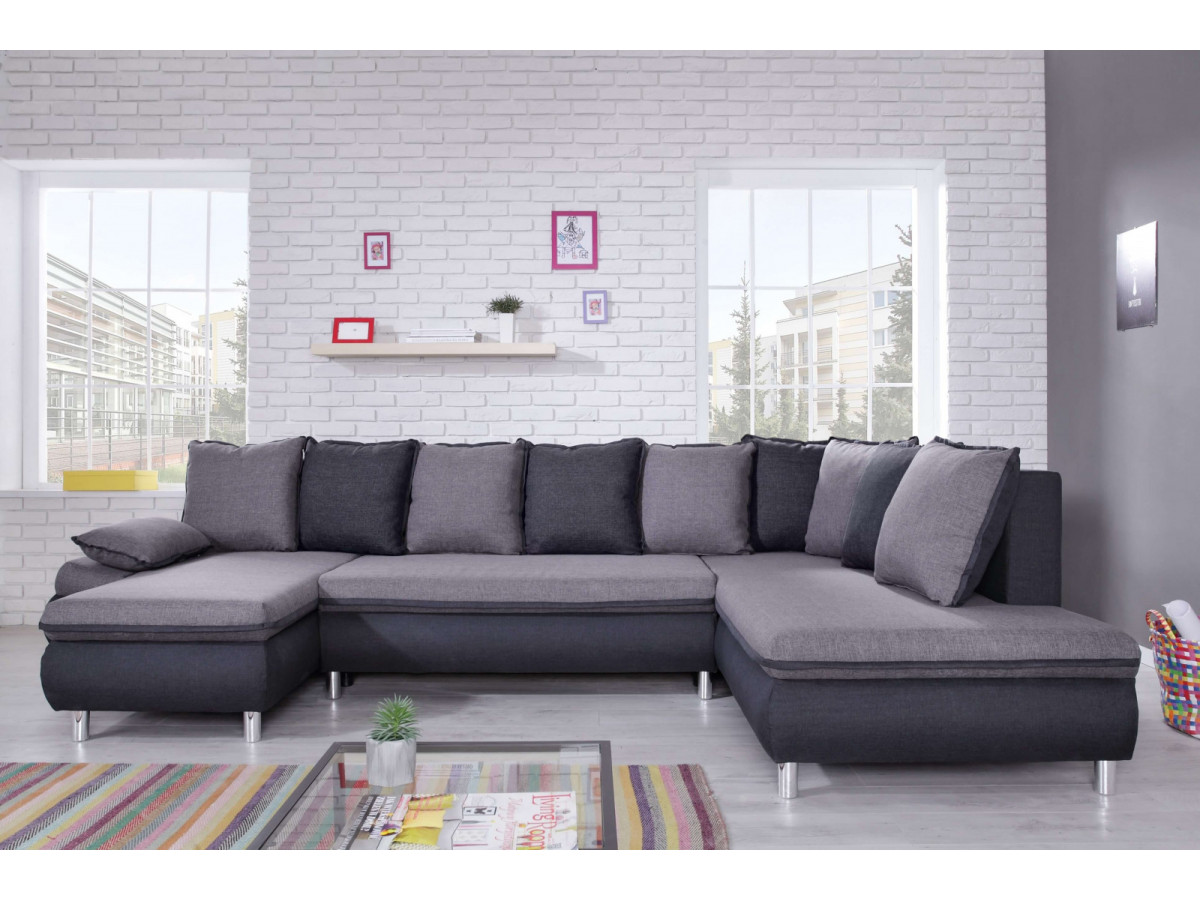 canap panoramique convertible r versible xxl bobochic paris. Black Bedroom Furniture Sets. Home Design Ideas
