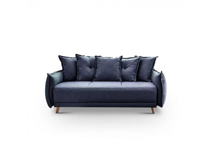 Sofá de 3 plazas fijo-LENA