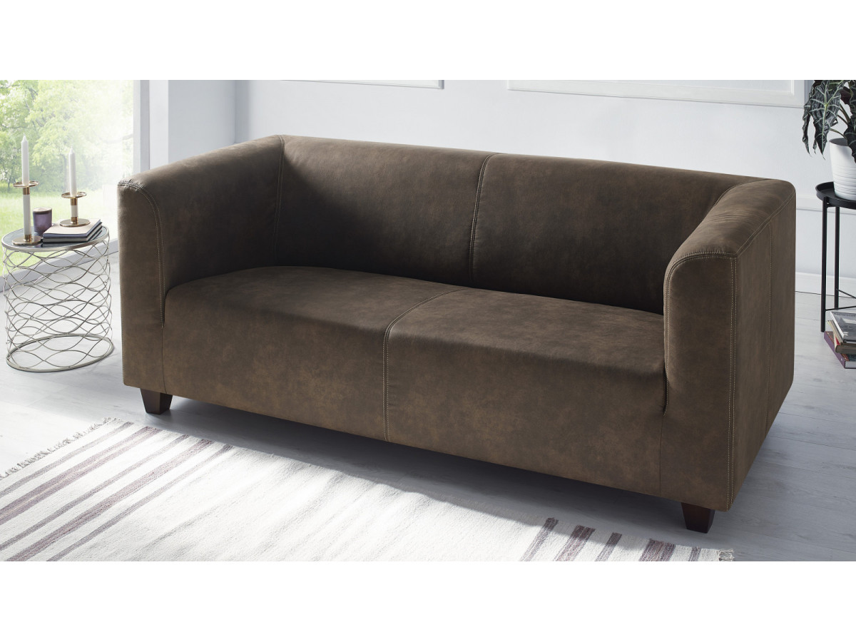 Sofa fixed 3 seater DJANGO