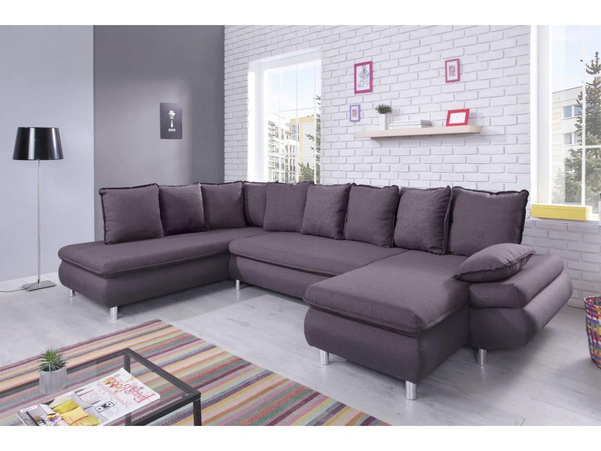 canap panoramique convertible r versible xxl bobochic. Black Bedroom Furniture Sets. Home Design Ideas