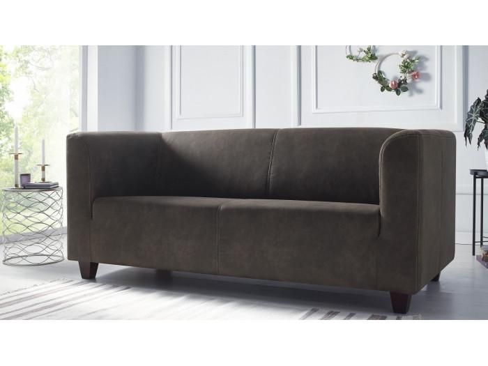 Canapé droit fixe 3 places DJANGO