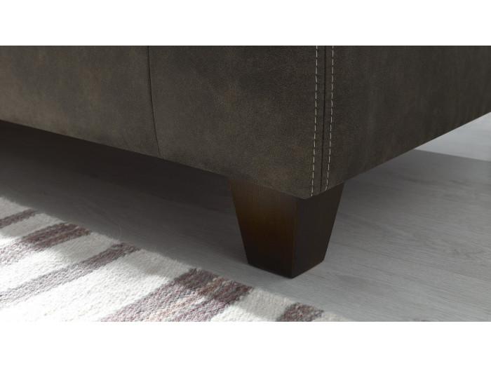 Sofa recht fest 2-sitzer-DJANGO