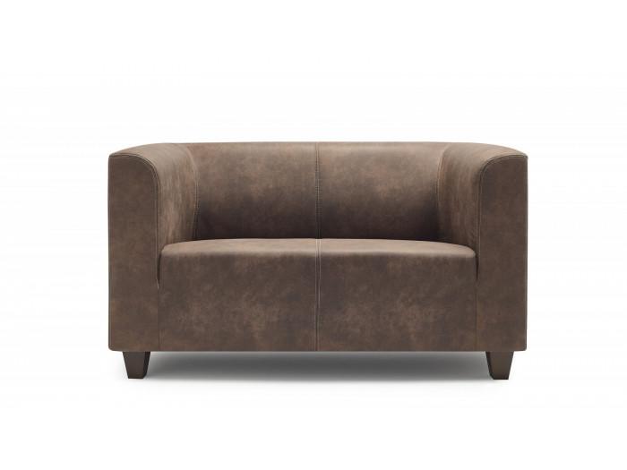 Canapé droit fixe 2 places DJANGO
