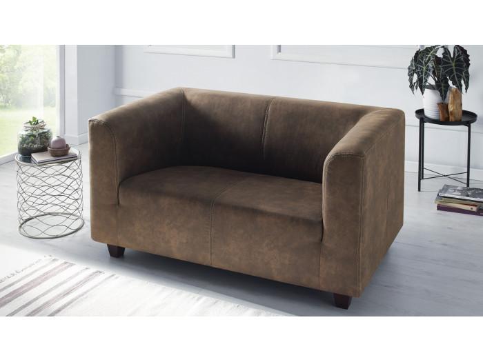 Sitzgarnitur 3-sitzer + 2-sitzer-Sofa + Sessel DJANGO
