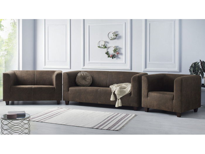 Ensemble Sofa 3 seats + sofa 2 seats + Armchair DJANGO
