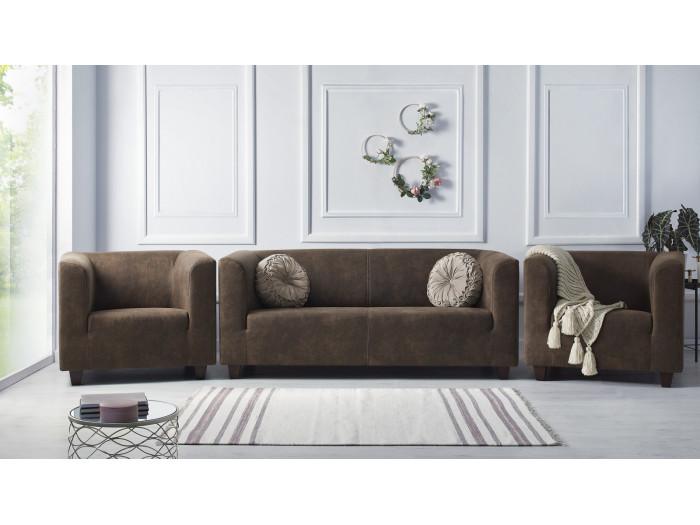 Ensemble Sofa 3 seats + 2 armchairs DJANGO