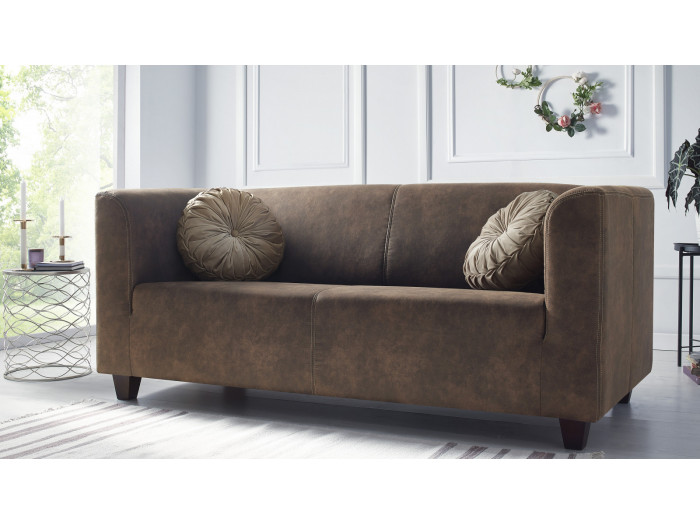 Zestaw Sofa 3-osobowa + 2 fotele DJANGO