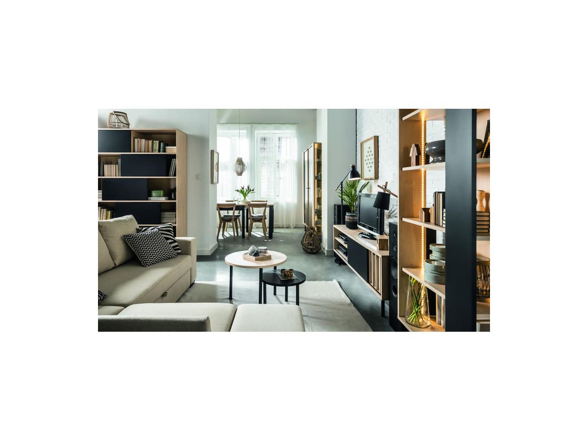 meuble tv 150 indus bobochic. Black Bedroom Furniture Sets. Home Design Ideas