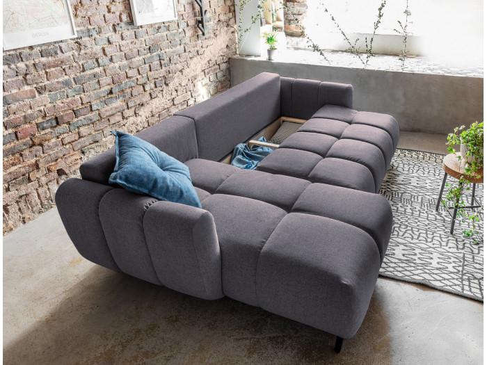 Sofa narożna cofania odwracalne escrow JOY