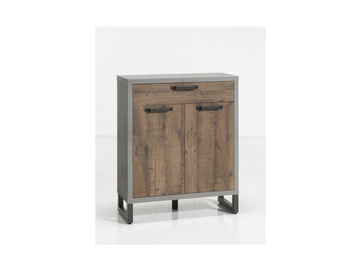 Storage with 2 doors and 2 drawers FACTORY