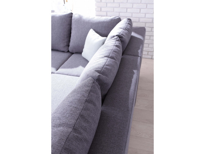 Rozkładana kanapa MINTY L o dużym narożniku