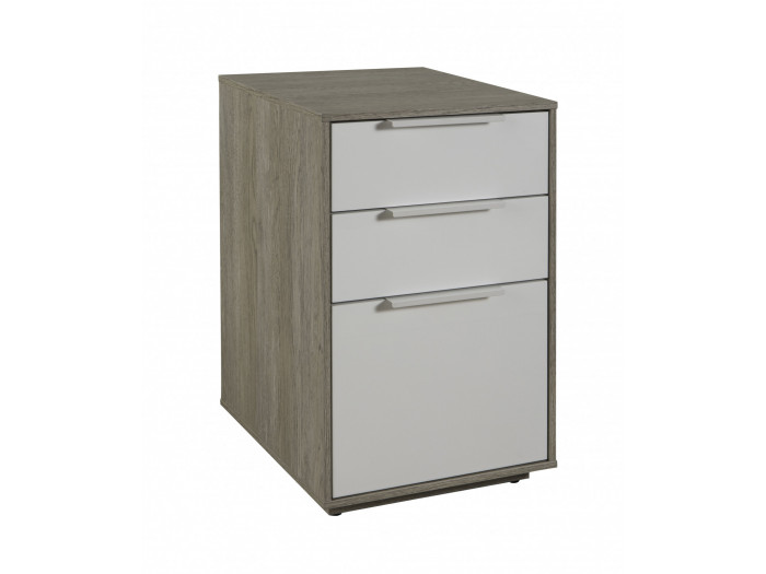 Dresser scandinavian 3 drawer ANAEL solid Wood