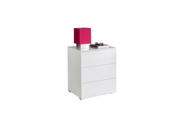 Bedside Table white ESSENTIAL