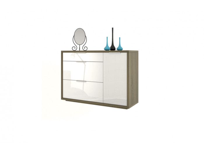 3 drawer chest with 1 door ESSENTIAL