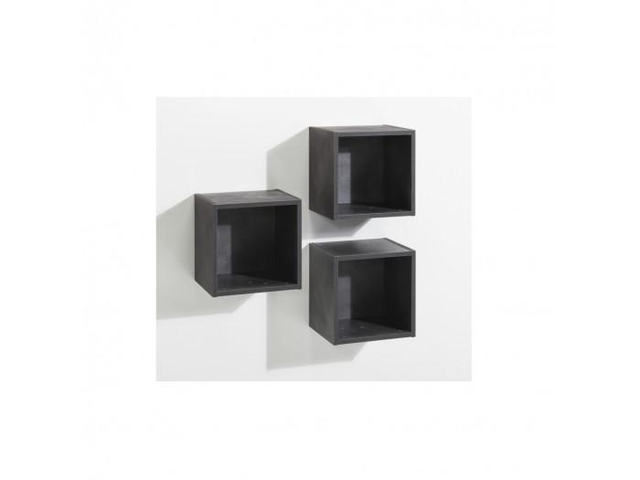 Set de 3 cubes VINTAGE