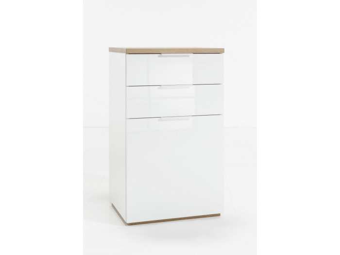 Chest of drawers 1 door with 2 drawers SINGLE