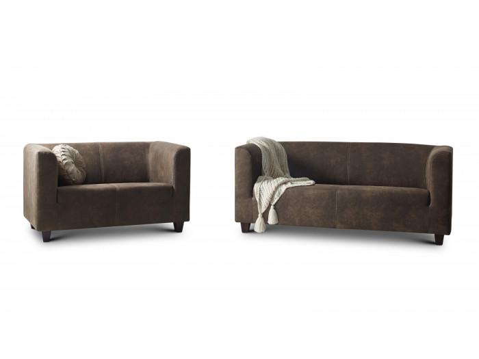 Conjunto de sofás de 3 plazas + 2 plazas Sofá DJANGO