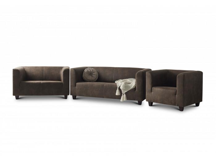 DJANGO 3 osobowa + 2 osobowa + Fotel