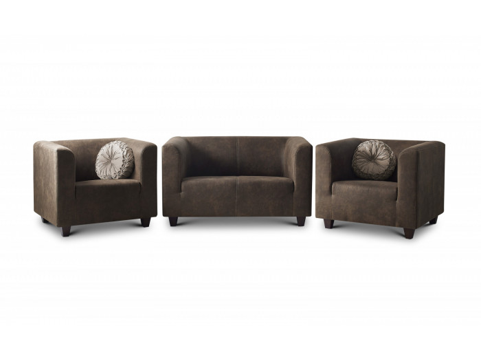 Sofa set 2 seater + 2 armchairs DJANGO