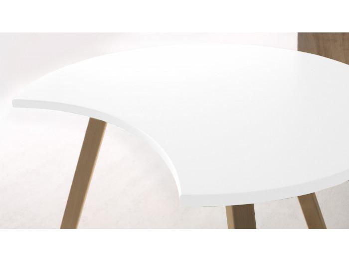 Coffee Table half-moon PRISTINA 60