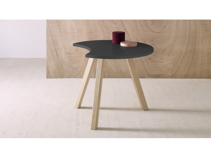 Table basse demi-lune PRISTINA 60
