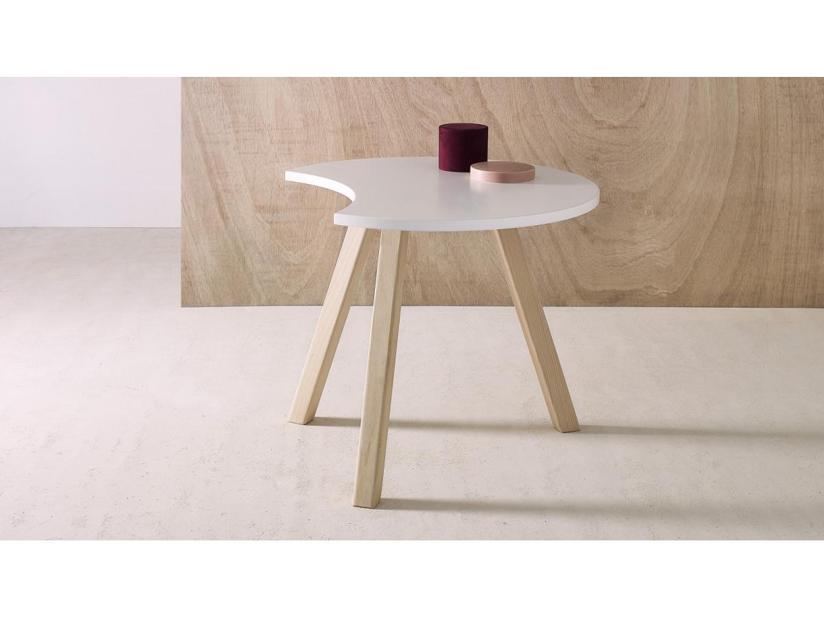 Coffee Table half-moon PRISTINA 80