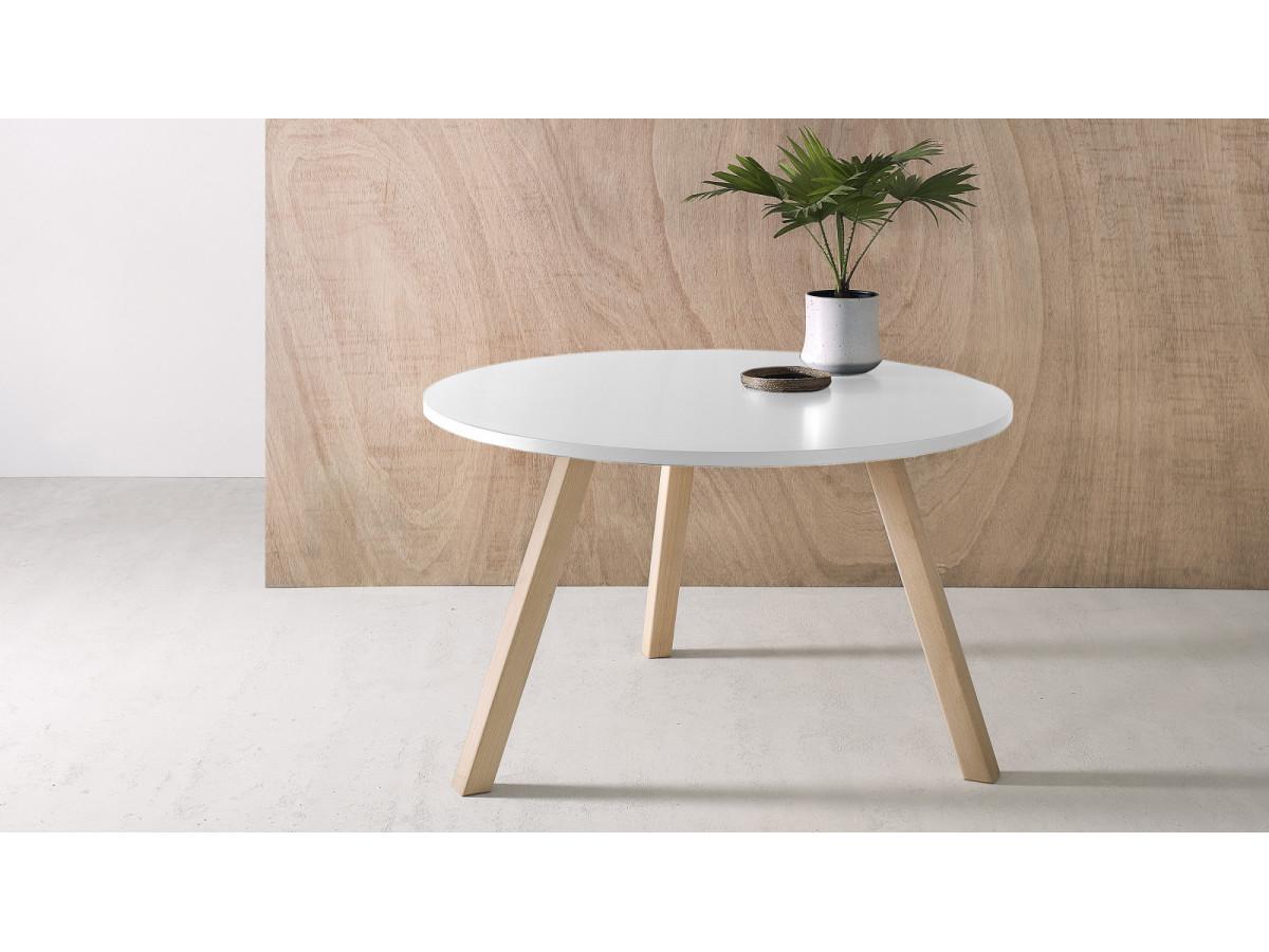 Table basse ronde PRISTINA 80