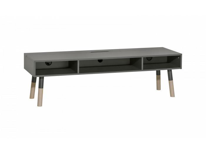 Meuble TV 3 tiroirs GRAPHITE
