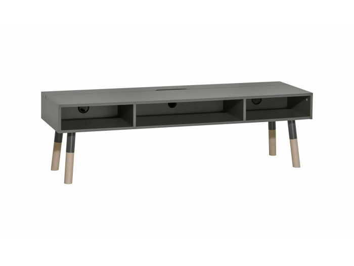 TV stand 3 drawers GRAPHITE