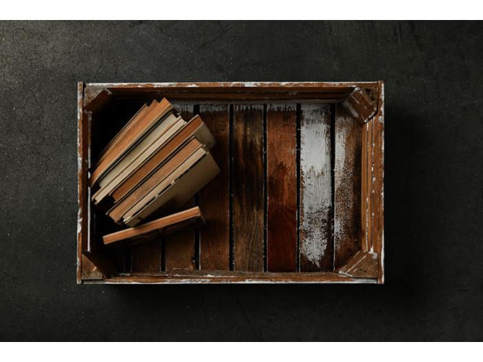 Komoda w stylu skandynawskim z 3 szufladami ANAEL Drewna