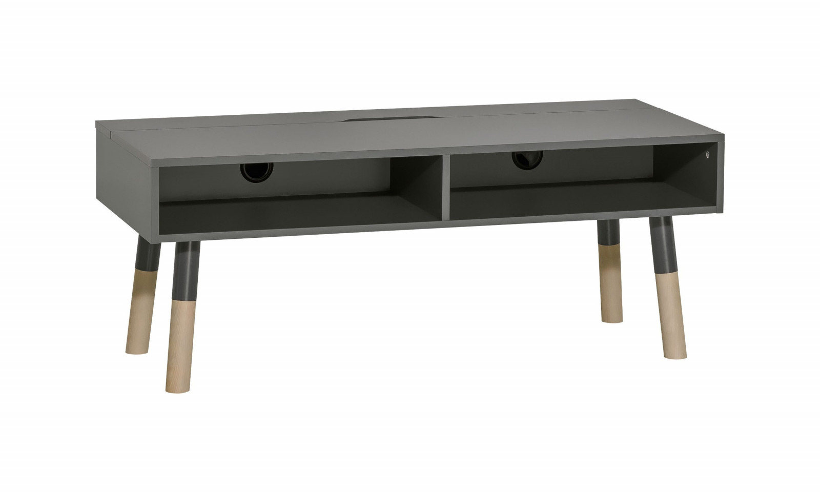 TV cabinet with 2 drawers GRAPHITE
