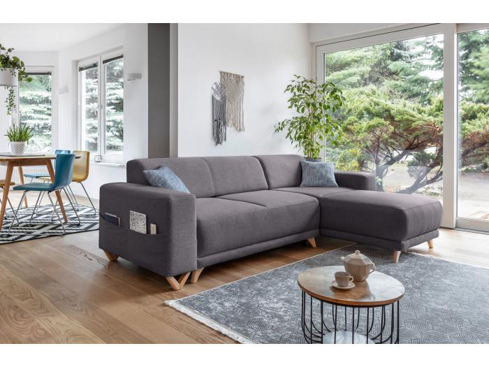 Corner sofa reversible convertible safe BELLA