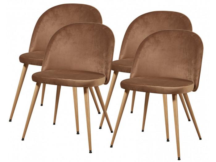 Lot de 4 chaises BAILAR