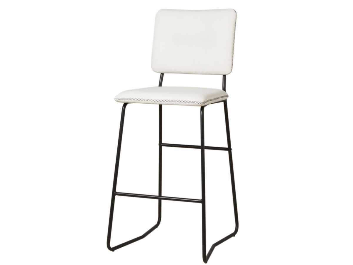 Lot de 2 chaises de bar TUBO
