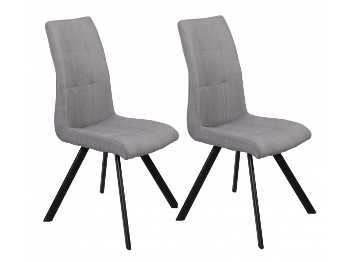 Lot de 2 chaises BAILA