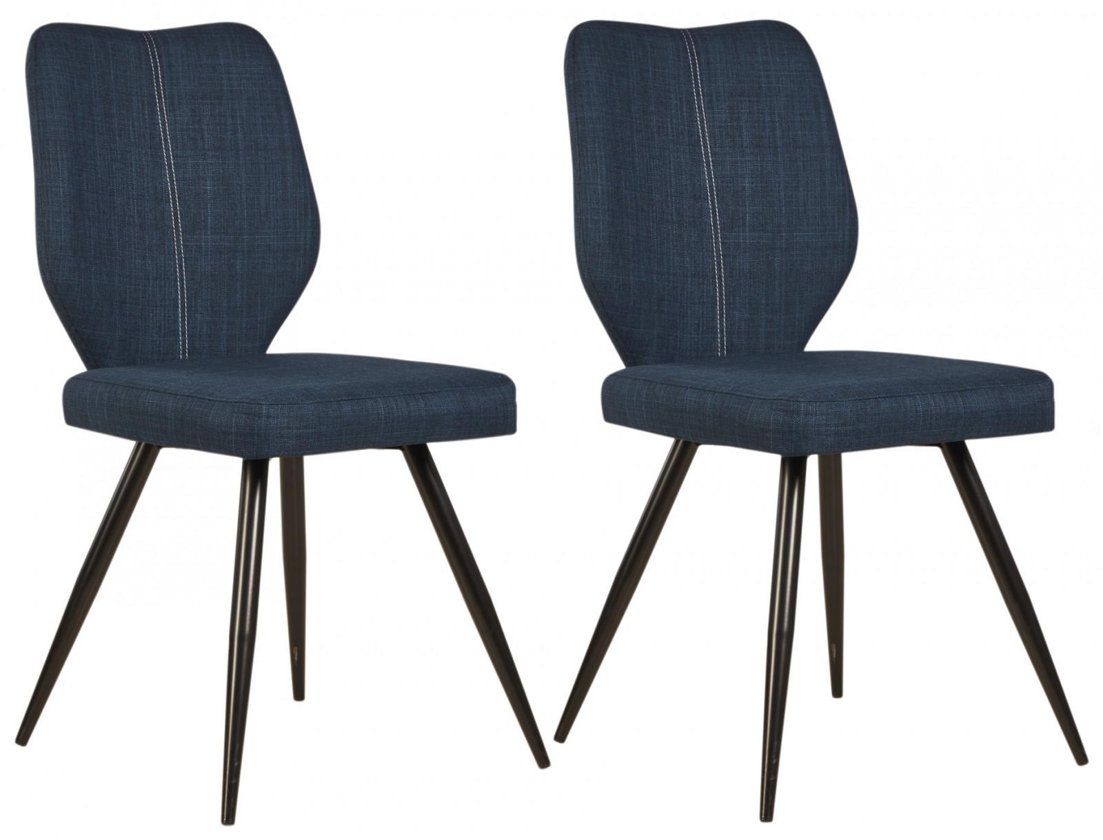 Chaise Bois Et Metal Industriel lot de 2 chaises de style industriel mike