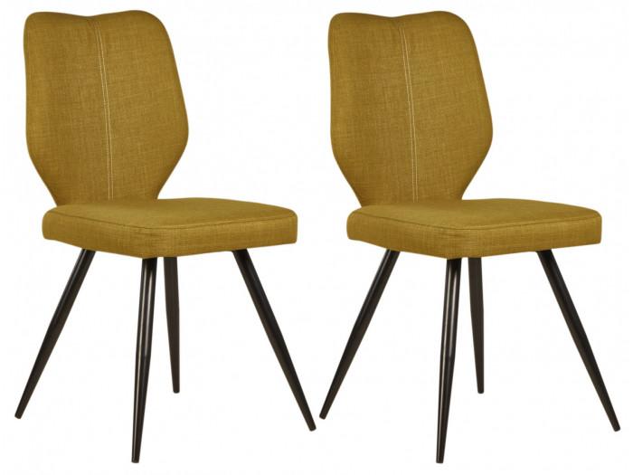 Lot de 2 chaises de salle à manger MIKE