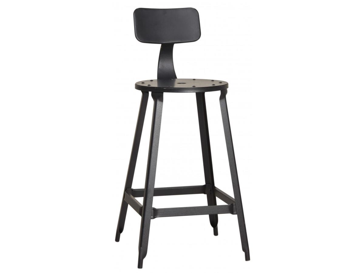 Lot de 2 chaises de bar DEBO