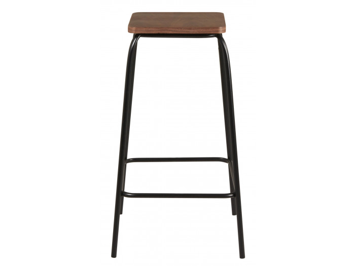 Lot de 2 Tabourets de bar PETER