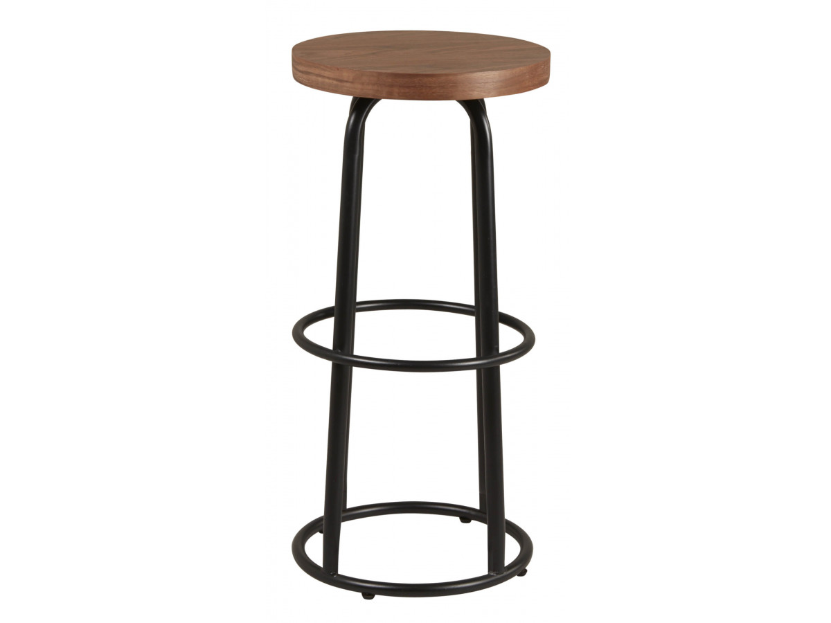 Lot de 2 Tabourets de bar MAT