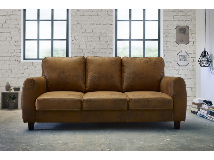 Sofa fixed 3 seater FELICITA