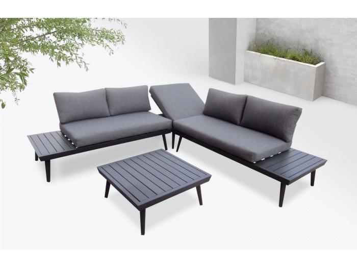 Salon de jardin en aluminium 6 places Rialto | BOBOCHIC ®