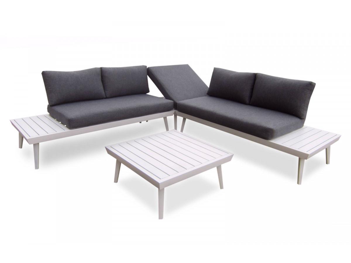 Salon de jardin en aluminium Ibiza - BOBOCHIC