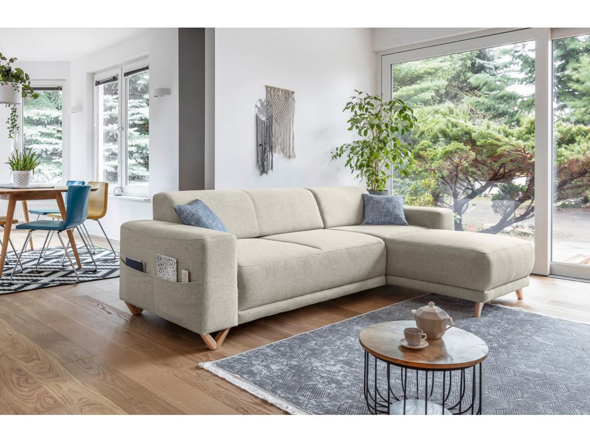 canap d 39 angle r versible fixe bella bobochic. Black Bedroom Furniture Sets. Home Design Ideas