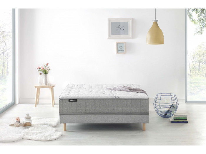 Set Mattress + Box Spring Bohemian Chic