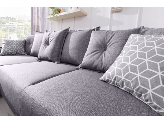 Corner sofa LENA convertible reversible