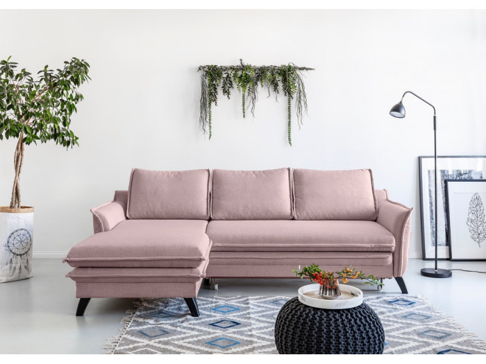Ecksofa bettsofa safe BOHO