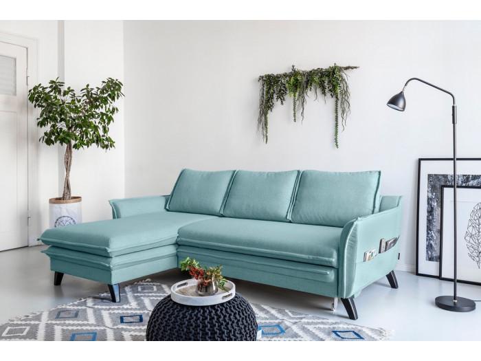 Corner sofa convertible trunk BOHO