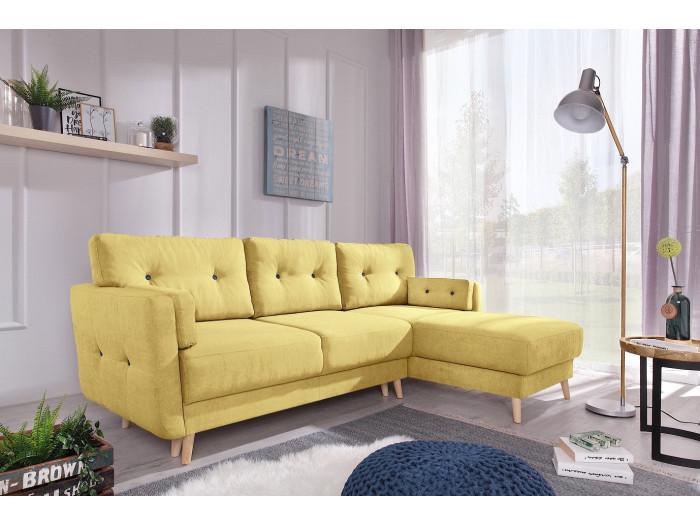Corner sofa Copenhagen convertible trunk
