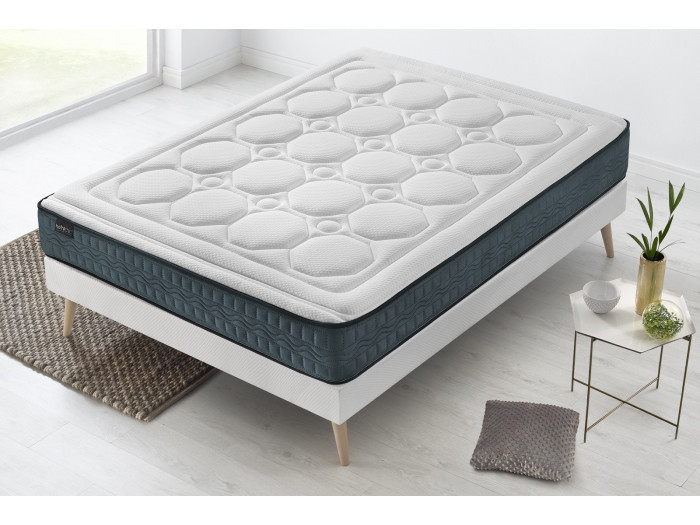 Ensemble Matelas + Sommier TENDRESSE